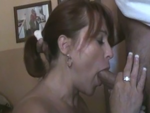 milf interracial blow job sex pictures