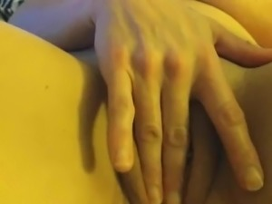 Couple masturbate together