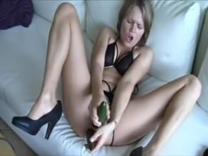 blonde girls double facial