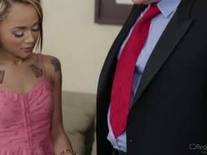 white cheating wife first black cock
