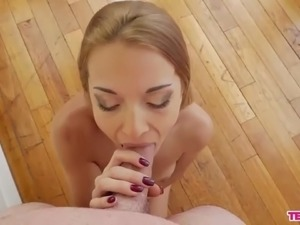 hot naked girls sucking cock
