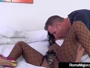 Caramel Mocha Menage Face Fucked By Rome Major & Tommy Utah!