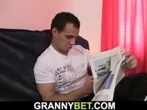 granny handjob boys video movies