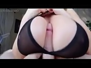girl sees big cock on webcam