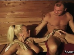 blowjob in public sauna finland video