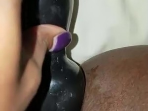 ebony black anal ass