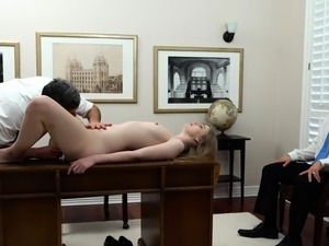 wife with black first time