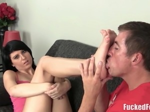 amateur home video sexy women footjobs