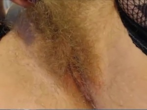 big hairy pussy video