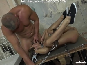 Girls tied up and fucked
