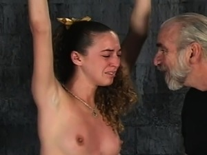Woman endures heavy stimulation in wild fetish clip scene