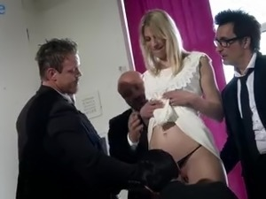 Hired real whore Jentina Small gets all her holes brutally fucked