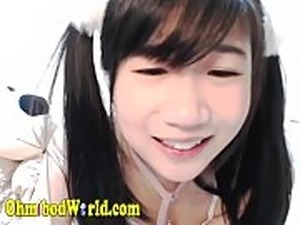 asian girls solo video