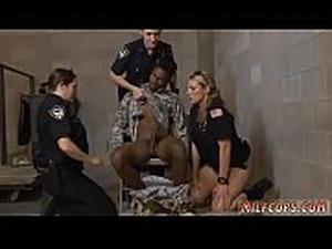 ebony police porn