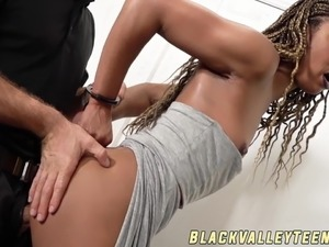 black clit suck cock