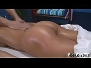 These three girls fucked hard by their masseur after getting a soothing rubdown