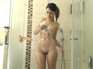 Shower masturbation movies