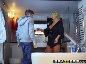 small breasted mature video brazzers