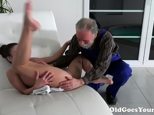 dirty young girls fuck old men