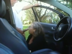 Oral sex in the car