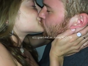 Joey and Britty Louise Kissing Video 1