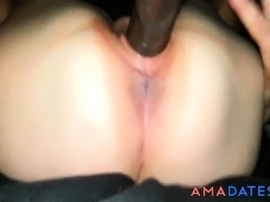 girl scared to fuck black cock
