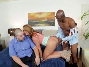 chubby wife black guy