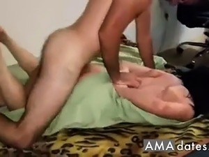 Russian slut with lover threesome pt2