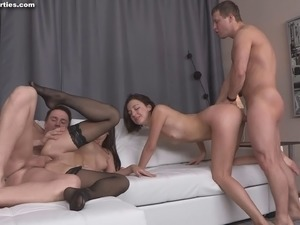 group orgasm video