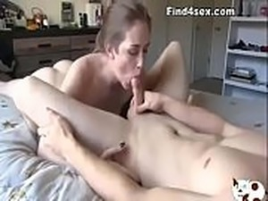 pussy massage and lick