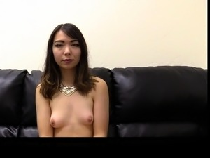 asian girl gets anal on video