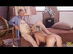 Old man fucks girls