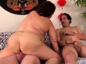 bbw having ass sex