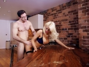 blonde fucking in the kitchen movies