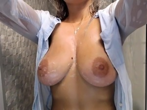 japanese young shower