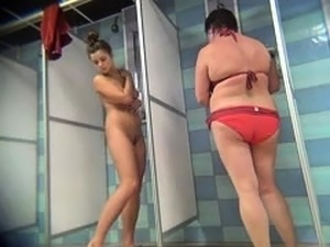 naked in shower amateur video