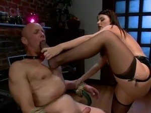 strapon with butt plug video