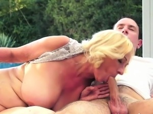 blonde girl braces sex