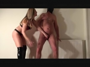 ruthless strapon anal fuck